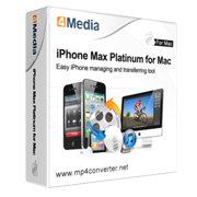 4Media iPhone Max Platinum for Mac