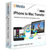 4Media iPhone to Mac Transfer