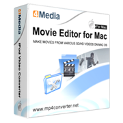 4Media Movie Editor for Mac