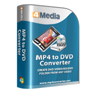 4Media MP4 to DVD Converter