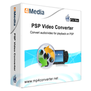 4Media PSP Video Converter for Mac