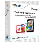 4Media YouTube to iPad Converter for Mac