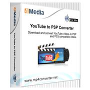 4Media YouTube to PSP Converter for Mac