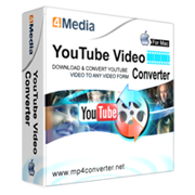 4Media YouTube Video Converter for Mac