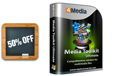 50% OFF for Media Toolkit
