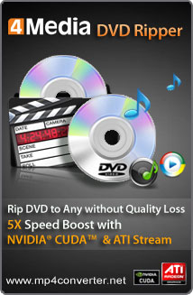 4Media DVD Ripper for Windows
