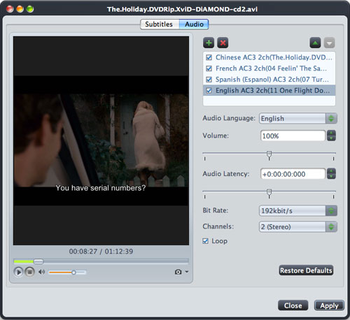 Mac AVI to DVD burning