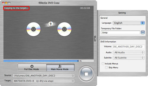 Copy DVD on Mac