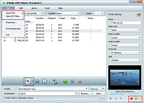 How to convert DVD to videos