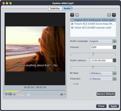 MPEG to DVD Mac burning