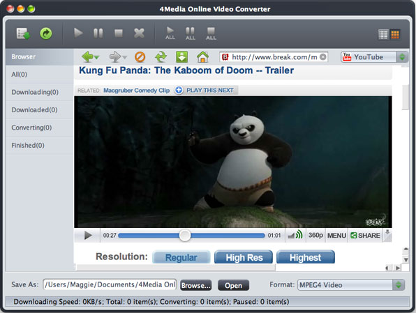Online Video Mac conversion