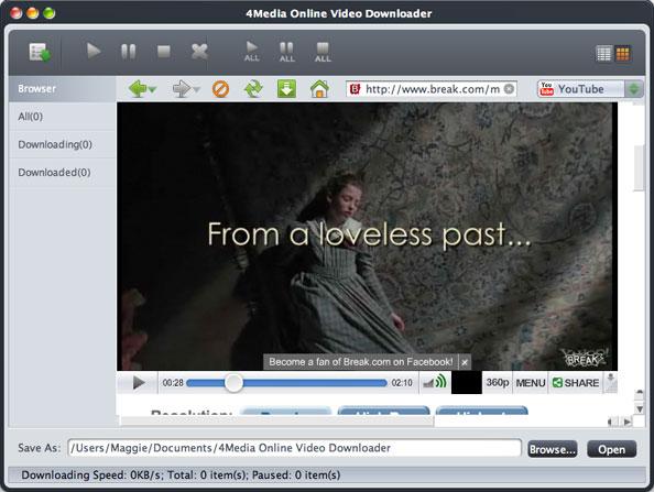 Mac online video downloading