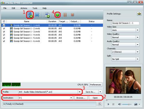 How to convert RMVB videos