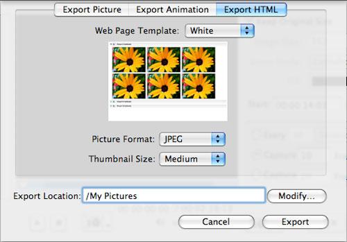 Capture Video Frame on Mac