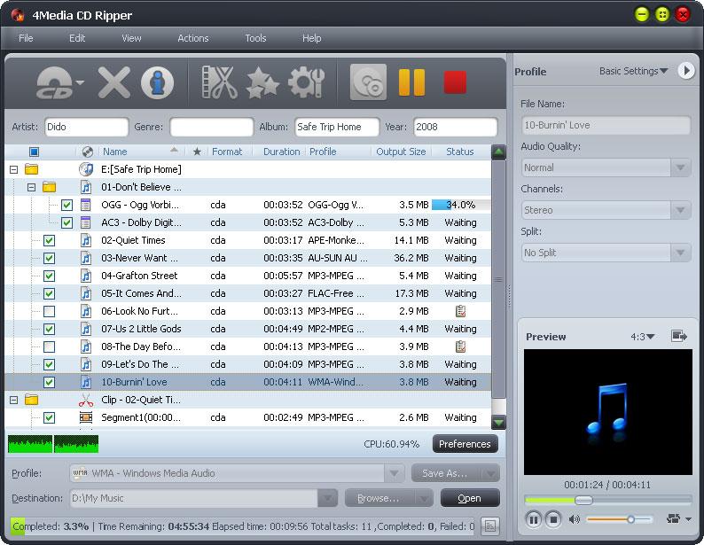 4Media CD Converter
