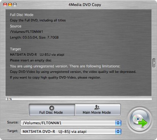 4Media DVD Copy for Mac