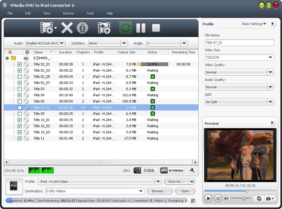 التعريب 1274 _ 4Media DVD to iPad Converter 6 لتحويل الـ DVD إلى جميع صيغ جهاز iPad m-dvd-to-ipad-conver