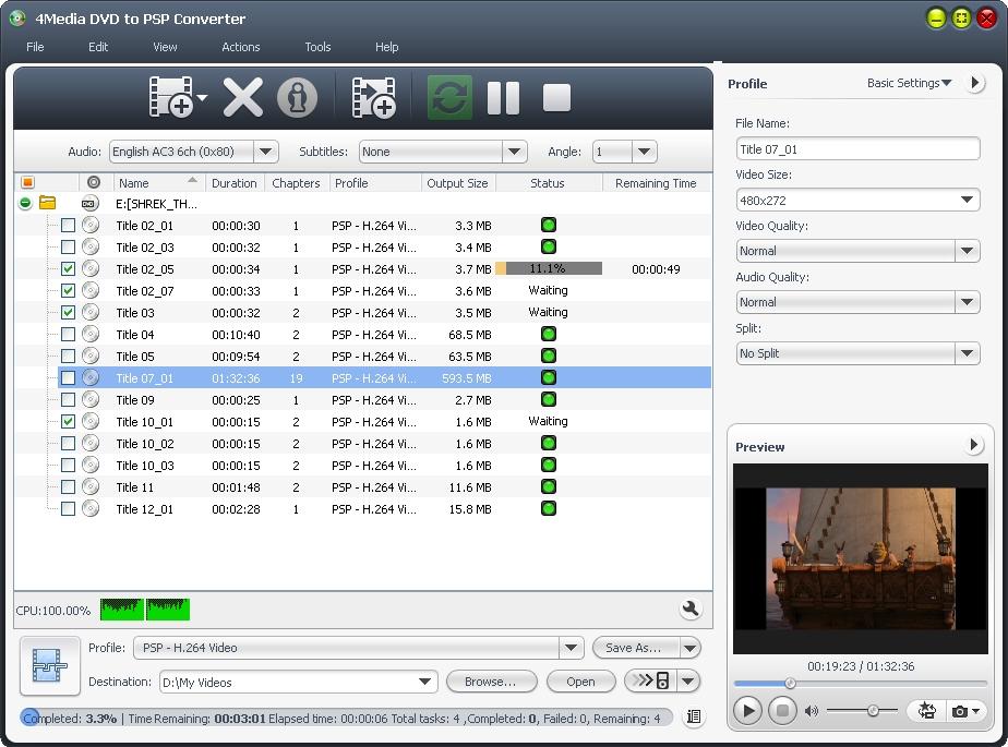 التعريب 1279 _ 4Media DVD to PSP Converter 6 لتحويل DVD إلى ملفات فيديو جهاز PSP m-dvd-to-psp-convert