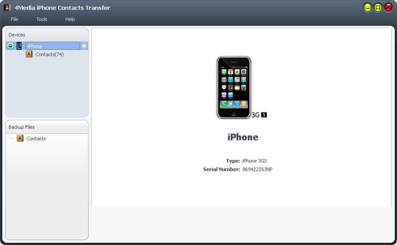 التعريب 1288 4Media iPhone Contacts m-iphone-contacts-tr