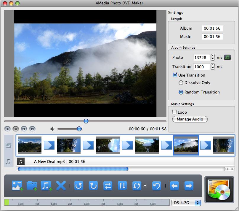 4Media Photo DVD Maker for Mac