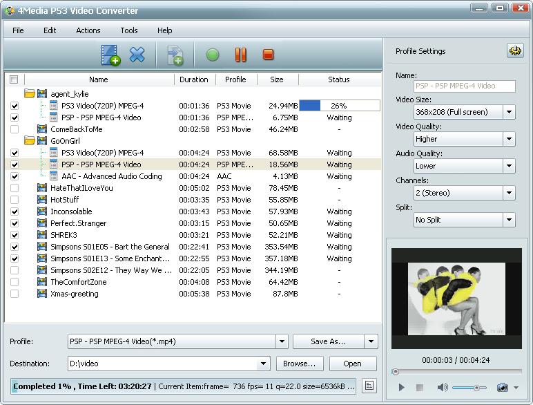 التعريب 496 ـ 4Media PS3 Video Converter 5 لتحويل جميع ملفات الفيديو إلى PS3 و PSP m-ps3-video-converte