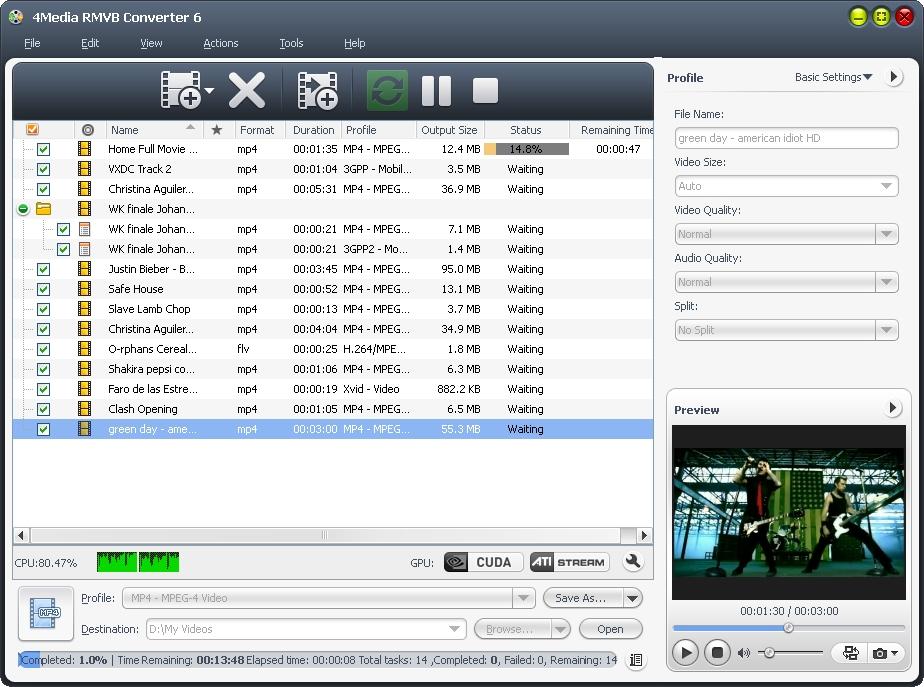 4Media RMVB Converter