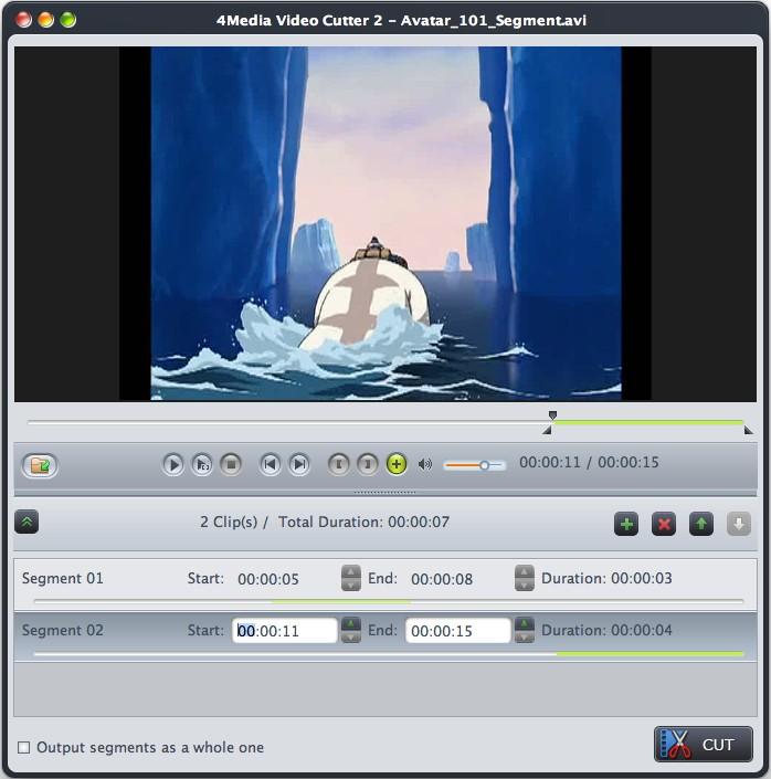 4Media Video Cutter 2 for Mac