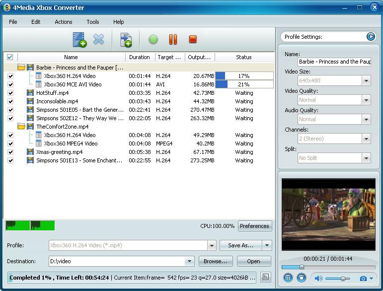 التعريب 4Media Xbox Converter الفيديو m-xbox-converter.jpg