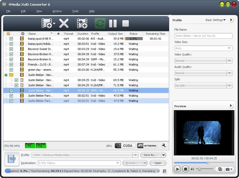 4Media XviD Converter
